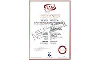 深帆能--开关电源SAA证书