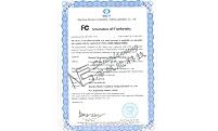 深帆能--线性电源FCC证书